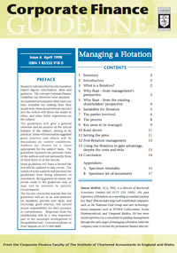 Guidelines - Managing a Flotation